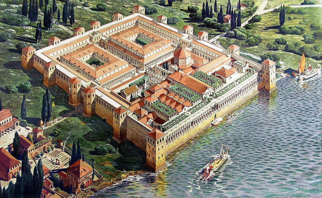 Diocletian's Palace (original appearance).jpg