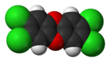 Image illustrative de l'article 2,3,7,8-Tétrachlorodibenzo-p-dioxine
