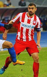 Greek footballer
