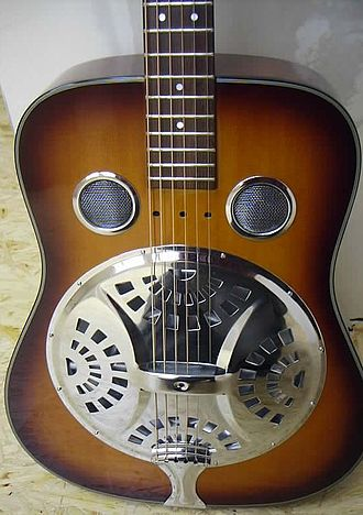 Dobro - Dobro-style resonator guitar made by Hohner.
