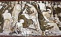 Domenico Beccafumi (disegno), Mosé fa scaturire l'acqua dalla rupe di Horeb, 1524-25, 07.JPG