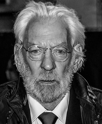Donald Sutherland, Canadian actor