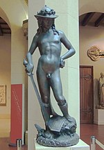 Donatello's David (casting in the Pushkin museum) 01 by shakko.jpg