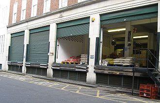 Dorset Street (Spitalfields) - The location of Miller's Court in Dorset Street