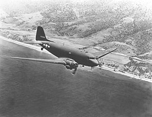 907th Air Refueling Squadron - C-47 as flown by the squadron during World War II
