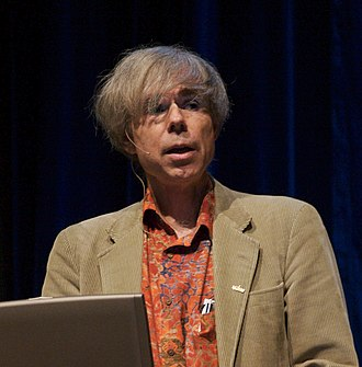 Douglas Hofstadter - Hofstadter giving a presentation at the 2006 Singularity Summit
