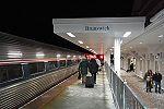 Downeaster at Brunswick station, January 2013.jpg