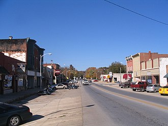 Seneca, Missouri - Downtown Seneca