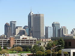 Skyline of Indianapolis