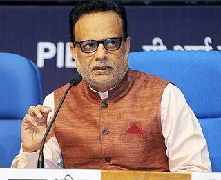 Hasmukh Adhia Indian banker and a civil servant