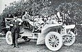 Dr. Rudolf Stöss sur Horch 18-20 hp, vainqueur de l'Herkomer-Konkurrenz 1906.jpg