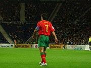 Luís Figo: Portekiz millî takım kaptanı