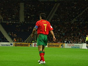 Luís Figo - Figo as captain of Portugal in 2005