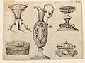 Drawing, Picture inventory with 5 table pieces, 1650 (CH 18551161).jpg