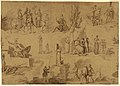 Drawing, Six Scenes from the Life of Jeanne d'Arc, 1817 (CH 18102935).jpg