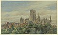 Drawing, View of Durham Cathedral, 1883 (CH 18610789-2).jpg