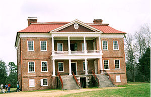 National Register of Historic Places listings in Charleston County, South Carolina - Image: Drayton Hall