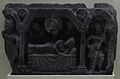 Dream of Mayadevi - Mardan - Gandhara - Indian Museum - Kolkata 2012-11-16 1866.JPG
