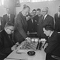 Drie Landenwedstrijd Nederland Spanje Luxemburg Schaken bij Heemaf te Hengelo. D, Bestanddeelnr 915-3159.jpg