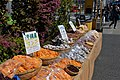 Dried seafood for sale outside Tsukiji (48623976653).jpg