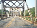 Driving the fourth span of the Barryville-Shohola.jpg