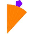 Dual pentagonal pyramid net.png