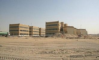 Dubai Studio City - DSC under construction in June 2007