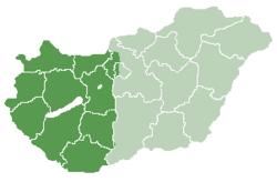 dunántúl térkép Dunántúl – Wikipédia dunántúl térkép