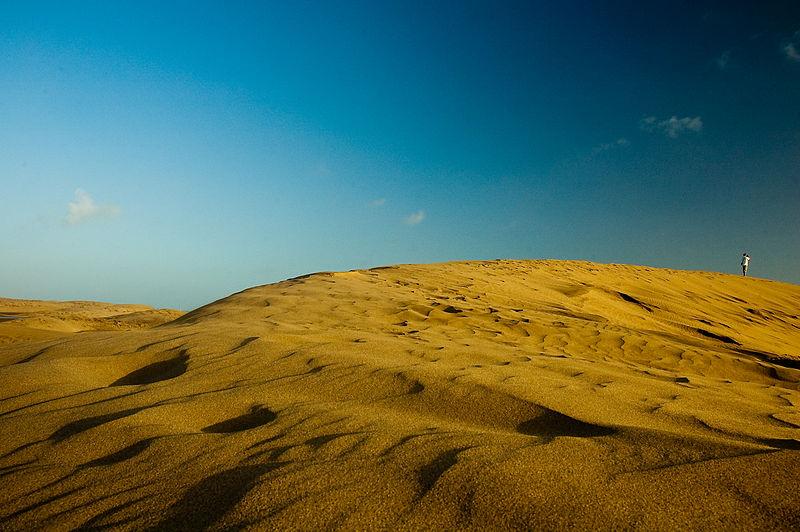 Maspalomas Sand Dunes Nudist Beach