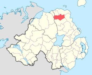 Dunluce Upper - Image: Dunluce Upper barony