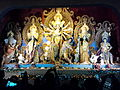 Durga & Her Family - Ekdalia Evergreen - Kolkata 2011-10-03 00674.jpg