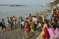 Durga Idol Immersion - Baja Kadamtala Ghat - Kolkata 2012-10-24 1621.JPG