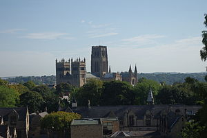 Durham School - Durham Cathedral seen from outside the chapel