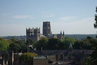 Mandell Creighton - Durham Cathedral from Durham Grammar School chapel