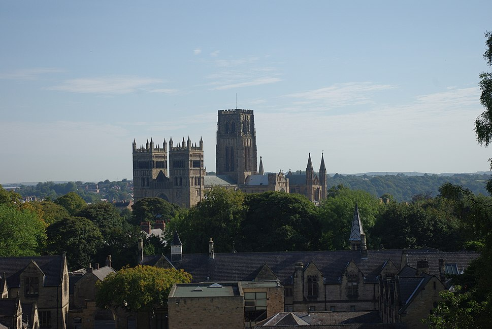 Durham Cathedral from Durham School
