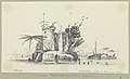Dutch Folly, a fort in the Tigris, near Canton RMG PW8543.jpg