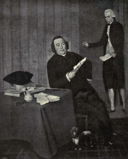 Dutch Painting in the 19th Century - Hendriks - Notary Köhne and his Clerk.png
