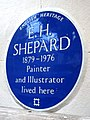 E. H. SHEPARD 1879-1976 Painter and Illustrator lived here.jpg