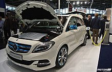 Production Mercedes Benz B Cl Electric Drive Charging