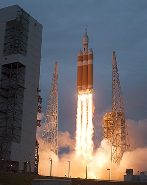 2014 in spaceflight - Orion EFT-1, the first test flight of the Orion Multi-Purpose Crew Vehicle, occurred on 5 December 2014.