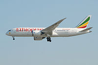 ET-AOO - B788 - Ethiopian Airlines