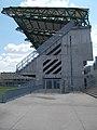 ETO Park stadion, nyugati lelátó az északi terasz felől nézve, 2018 Győr.jpg