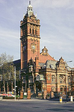 East Ham Town Hall - geograph.org.uk - 575134.jpg