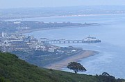 Eastbourne, as seen from Beachy Head