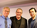 Ed, Mark Schaefer and You Mon April 2014.jpg