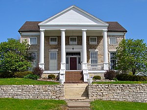 National Register of Historic Places listings in east Davenport, Iowa - Image: Ed Barrows House Dave IA