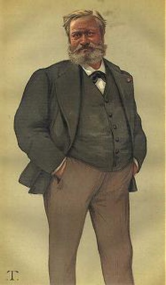 Black lounge suit - Image: Edmond About Vanity Fair 20 November 1880