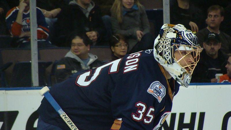 Edmonton Oilers Goalie (6) ROLOSON (3308097413).jpg