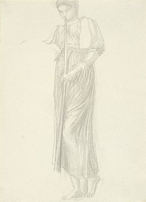The Golden Stairs - Image: Edward Burne Jones Study for the Golden Stairs