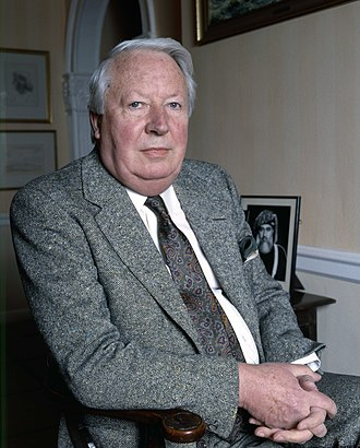 Edward Heath - Heath in 1987 by Allan Warren
